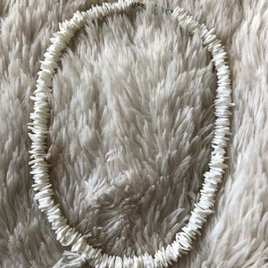 white puka shell necklace